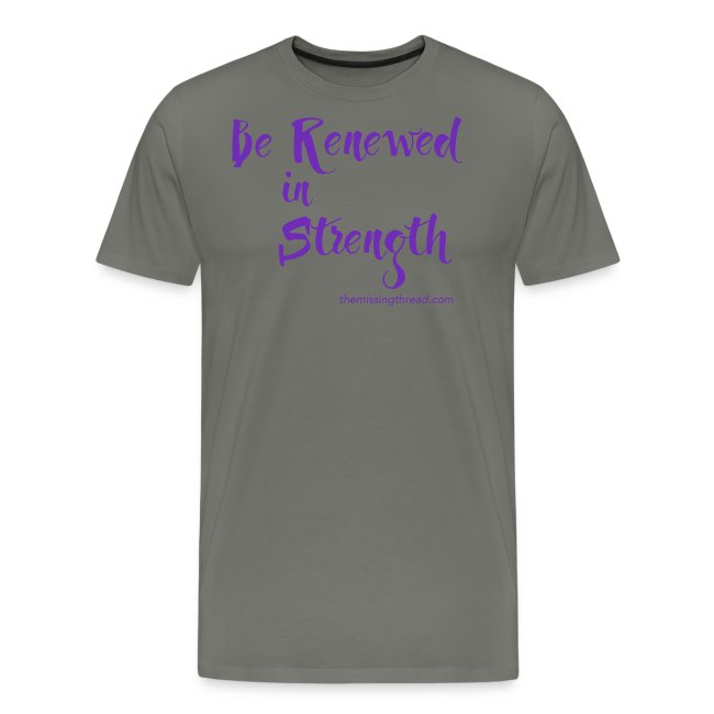 Be Renewed in Strength