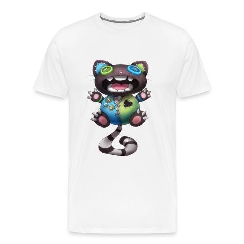 Clover Cats - Grey toy cat - Men's Premium T-Shirt