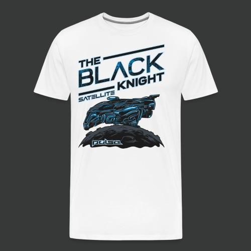 The Black Knight Satellite (Pulse) (For White) - Men's Premium T-Shirt