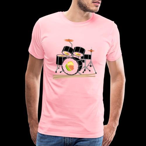 Sushi Roll Drum Set - Men's Premium T-Shirt