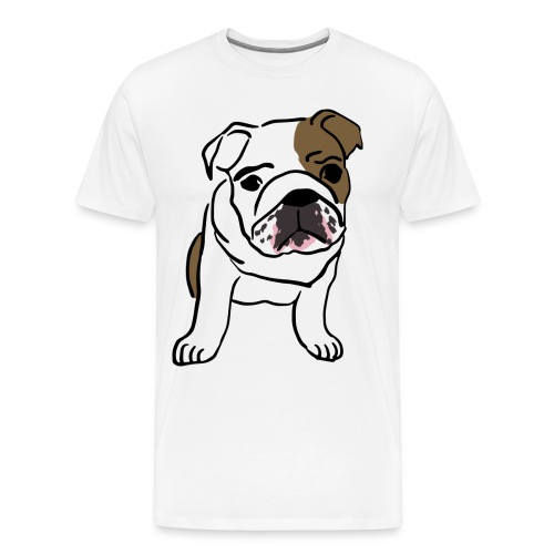 Cute Pug - Men's Premium T-Shirt