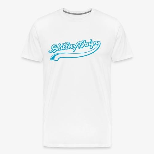SkillerzDesign signature - Men's Premium T-Shirt