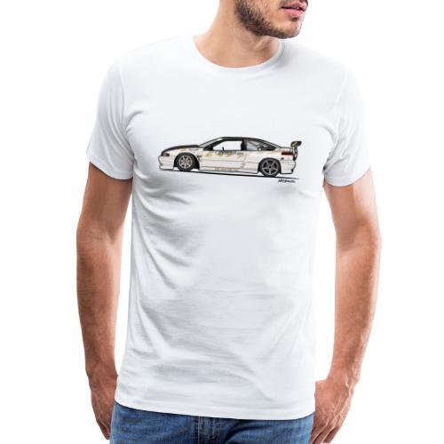 Subaru SVX Van Den Elzen Drift Car - Men's Premium T-Shirt