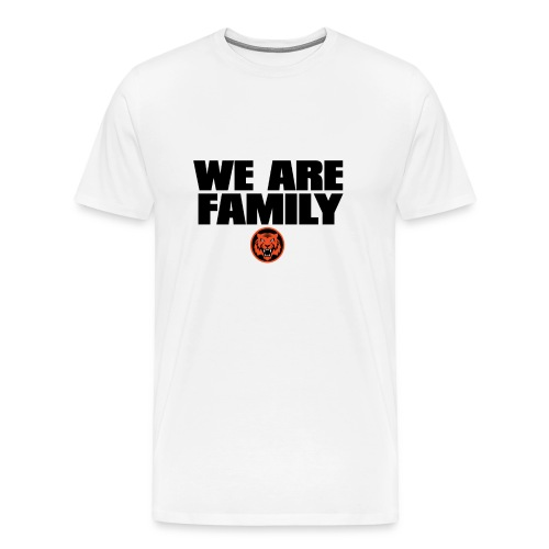 we are family bengals - Men's Premium T-Shirt