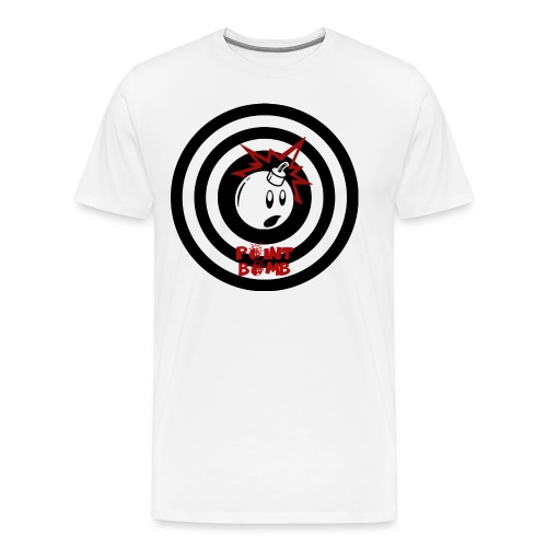 Point Bomb Flag logo - Men's Premium T-Shirt