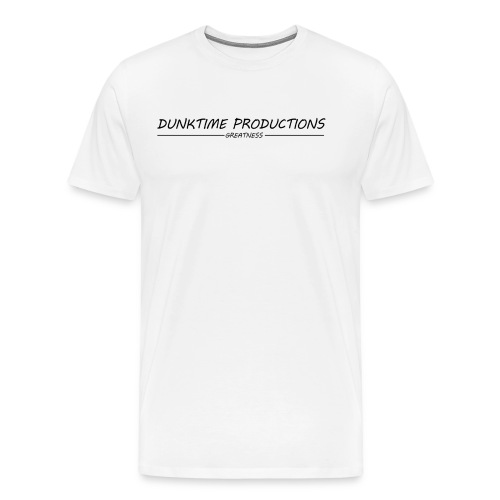 DUNKTIME Productions Greatness - Men's Premium T-Shirt