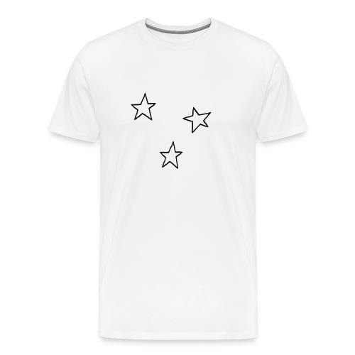 Three Stars - Men's Premium T-Shirt