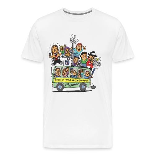 dementiafunbus full color - Men's Premium T-Shirt