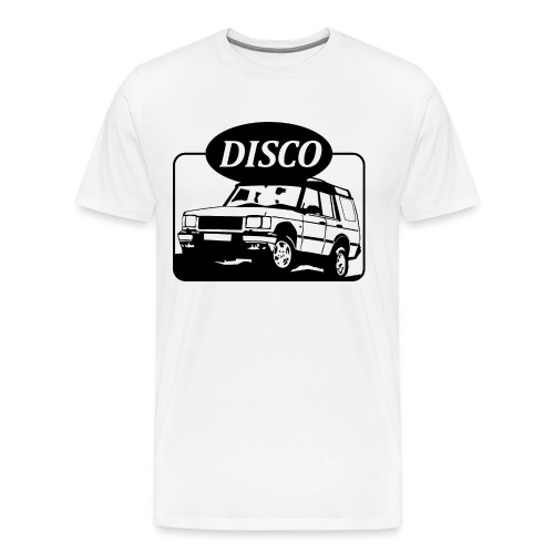 Land Rover Discovery illustration - Men's Premium T-Shirt