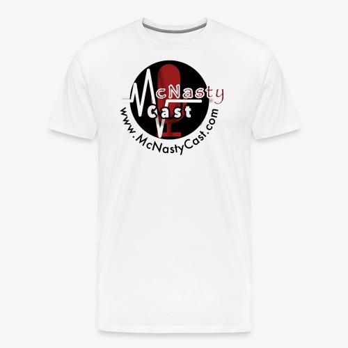 McNasty Cast Official Logo - Men's Premium T-Shirt