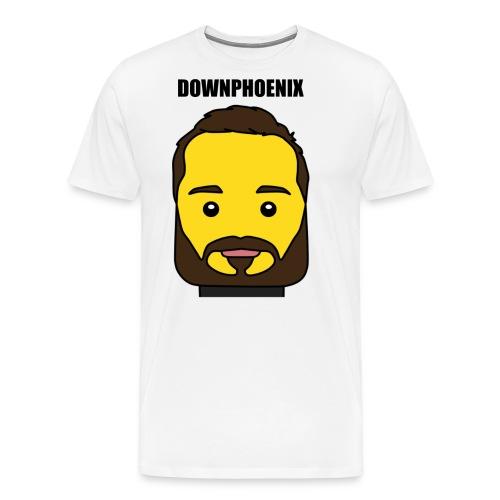 Downphoenix Face Mode - Men's Premium T-Shirt