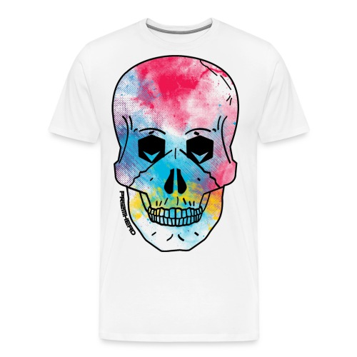 New PRIZMHEAD Skull png - Men's Premium T-Shirt