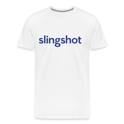 SlingShot Logo - Men's Premium T-Shirt