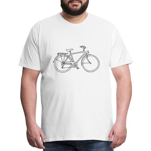Bicycle - Men's Premium T-Shirt