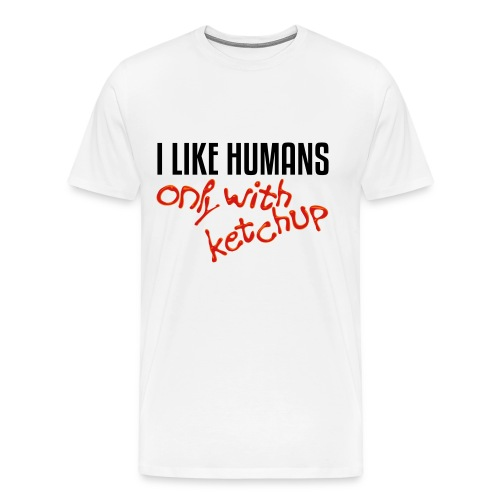 I like ketchup - Men's Premium T-Shirt