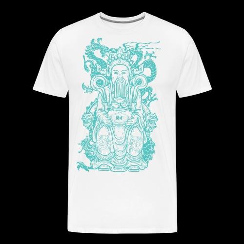 Wise Blue Monk - Men's Premium T-Shirt