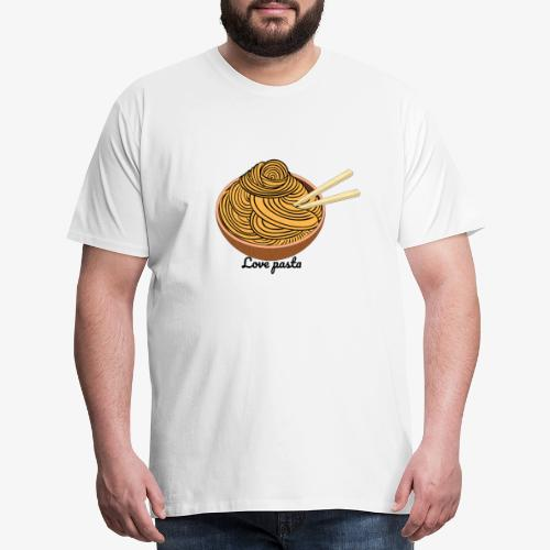 love pasta - Men's Premium T-Shirt