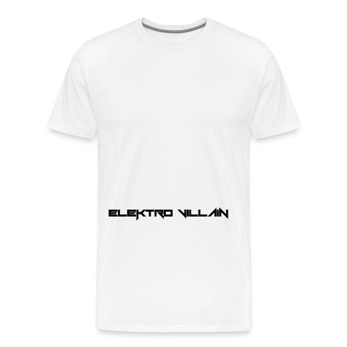 EV Text black vect - Men's Premium T-Shirt
