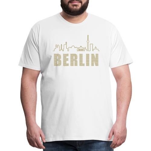 Skyline of Berlin - Men's Premium T-Shirt