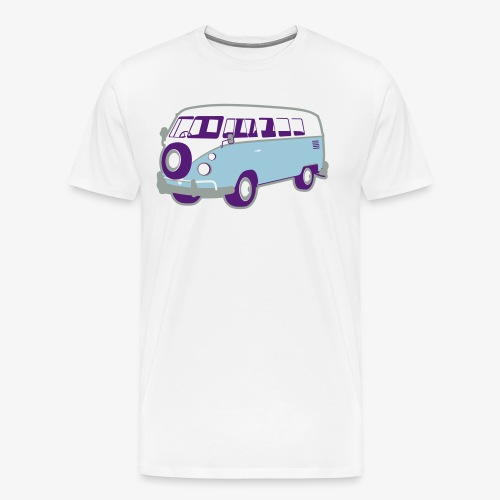 Surf surfers camper hippy surfbus - Men's Premium T-Shirt