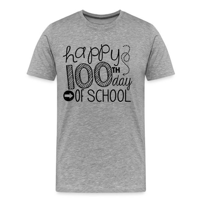 Happy 100th Day of School Arrows Teacher T-shirt