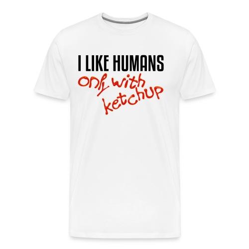 I like ketchup - Men's Premium T-Shirt