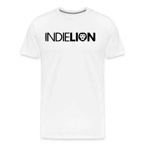 IndieLion textlogo black png - Men's Premium T-Shirt