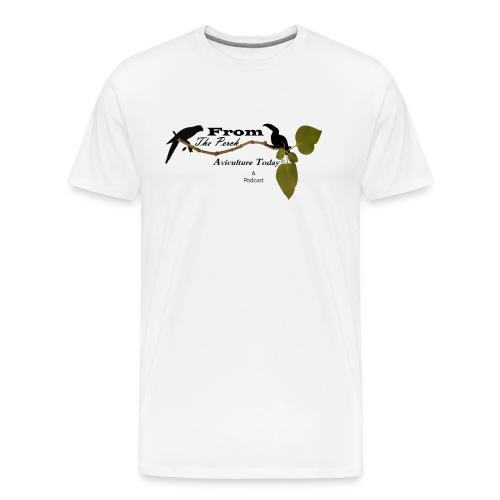 From The Perch Logo - Men's Premium T-Shirt