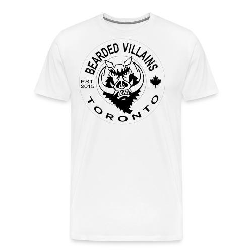 Toronto white logo - Men's Premium T-Shirt