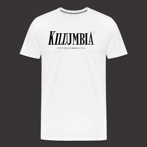Killumbia Logo White - Men's Premium T-Shirt