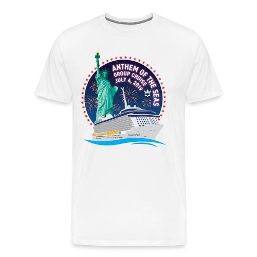 RCB Anthem of the Seas Lo - Men's Premium T-Shirt