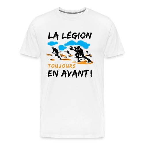 La egion-toujours-en-avan - Men's Premium T-Shirt