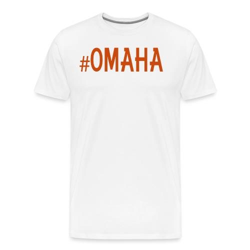 #OMAHA - Men's Premium T-Shirt