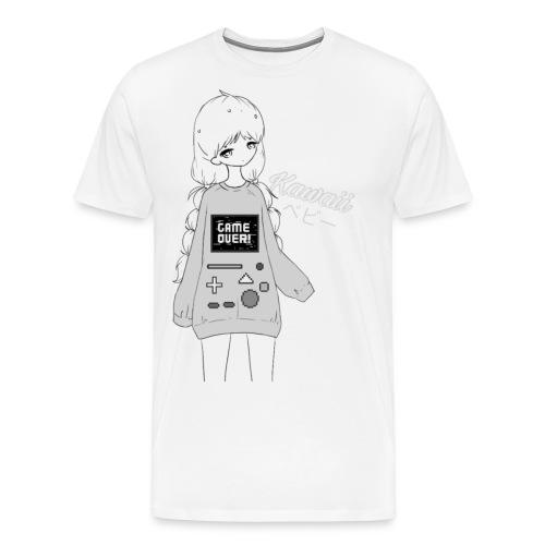 Game Over Kawaii - Men's Premium T-Shirt