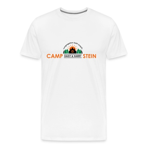 campstein horiz 4color - Men's Premium T-Shirt