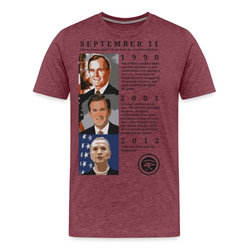september11quotes png - Men's Premium T-Shirt