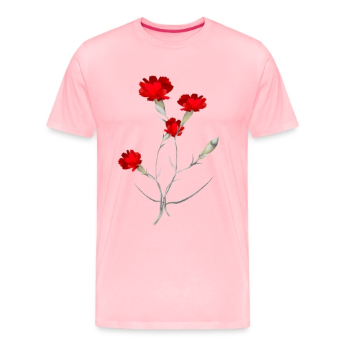 Carnations - Men's Premium T-Shirt