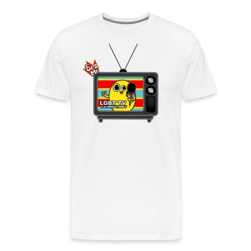 Old TV shhirt png - Men's Premium T-Shirt