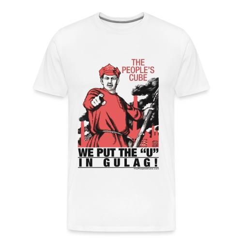 We put the U in gulag - Men's Premium T-Shirt