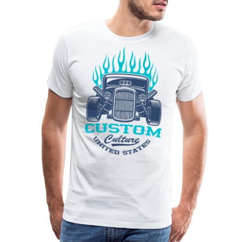 custom car usa - Men's Premium T-Shirt