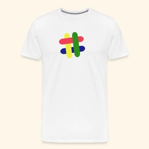 hashtag - Men's Premium T-Shirt