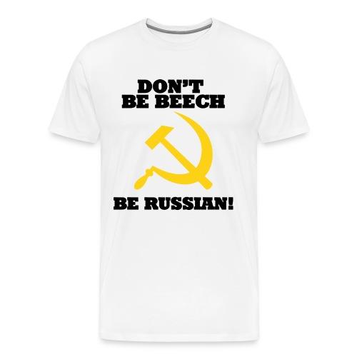fpsrussiabeechshirt - Men's Premium T-Shirt