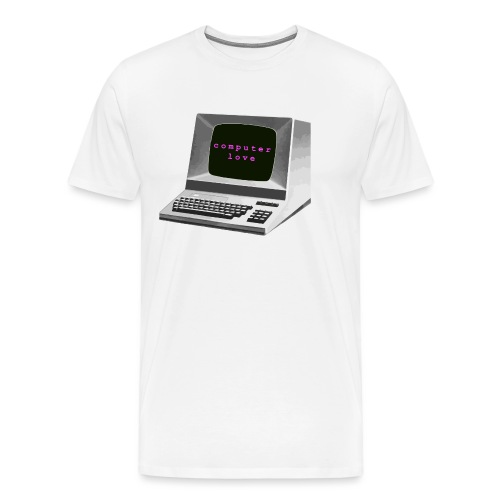 Computer Love - Men's Premium T-Shirt
