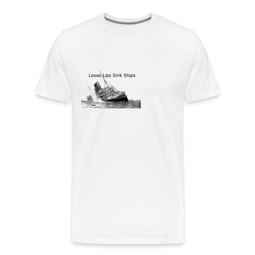 Enron Scandal Joke - Men's Premium T-Shirt
