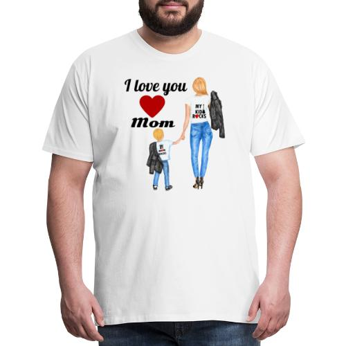 Mother's day gift from daughter, Mother's Day Gift - Men's Premium T-Shirt