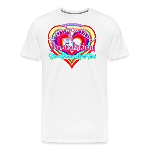Rainbowland Foundation logo - Men's Premium T-Shirt