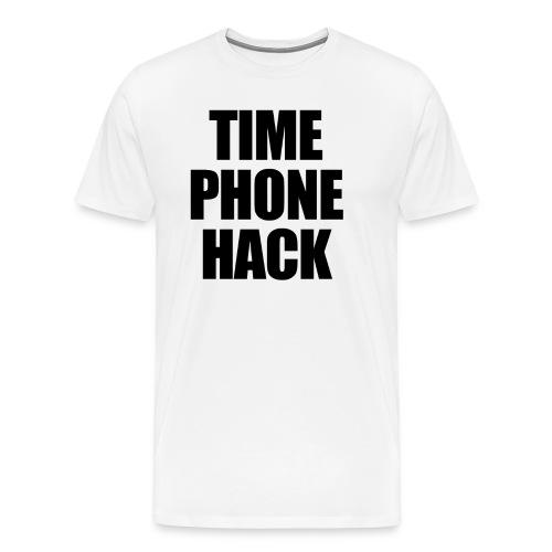 Time Phone Hack - Men's Premium T-Shirt
