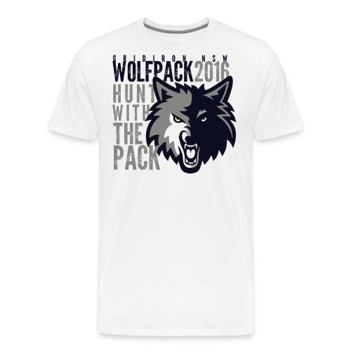 huntwhite - Men's Premium T-Shirt