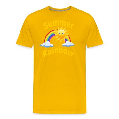 Summer Rainbow - Men's Premium T-Shirt
