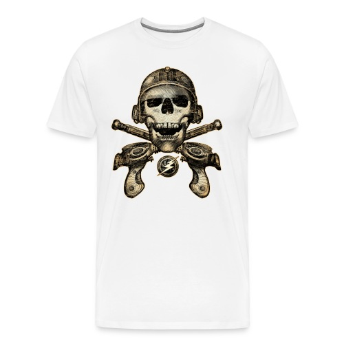 SpacePirate Guns - Men's Premium T-Shirt